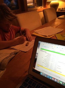I hate homework more than all of them combined.