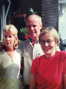 My aunt Maud, uncle Frans, Mum in Holland.