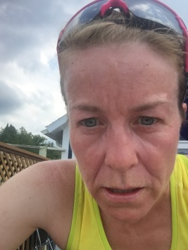 This is how good I look when running in 98% humidity!