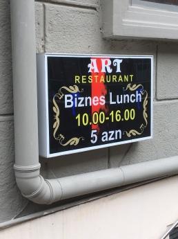It's Biznes time.